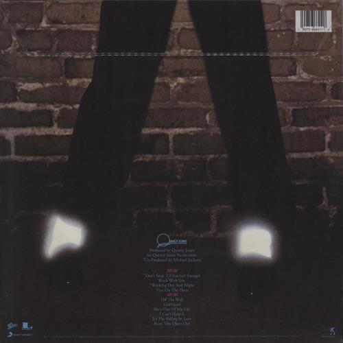 Michael Jackson Off The Wall picture disc LP (vinyl picture disc album) UK M-JPDOF752121