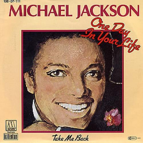 "Michael Jackson One Day In Your Life 7"" vinyl single (7 inch record) German M-J07ON71867"