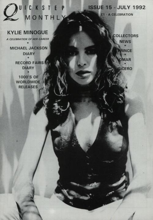 Michael Jackson Quickstep Monthly - June '92 & July '92 fanzine UK M-JFAQU623077