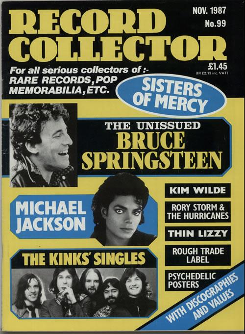 Michael Jackson Record Collector - Nov. 1987 magazine UK M-JMARE641616