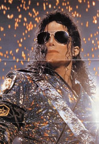 "Michael Jackson Scream - Poster Sleeve 7"" vinyl single (7 inch record) UK M-J07SC47993"