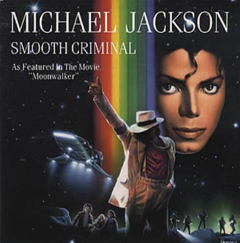Michael Jackson Smooth Criminal Moonwalker Sleeve Dutch