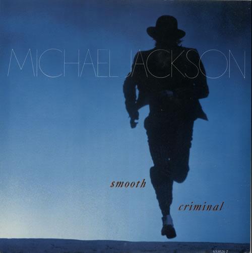 "Michael Jackson Smooth Criminal 7"" vinyl single (7 inch record) UK M-J07SM43146"