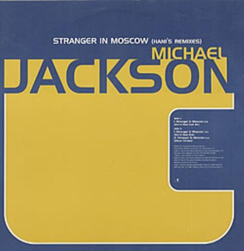 "Michael Jackson Stranger In Moscow (Hani's Remixes) 12"" vinyl single (12 inch record / Maxi-single) UK M-J12ST74296"