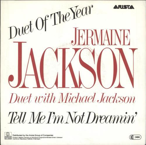 "Michael Jackson Tell Me I'm Not Dreamin' (Too Good To Be True) + facts sheet 7"" vinyl single (7 inch record) German M-J07TE727605"