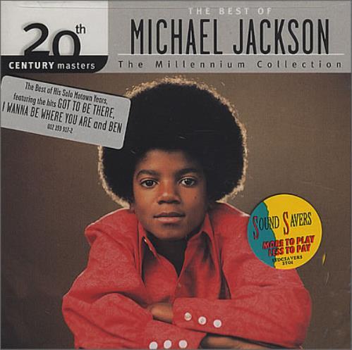 Michael Jackson The Best Of CD album (CDLP) US M-JCDTH233600