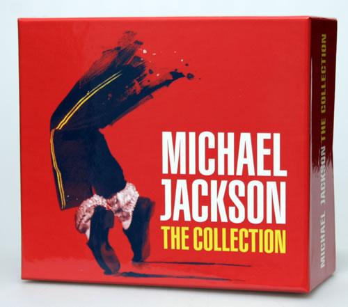 Michael Jackson The Collection Japanese CD Album Box Set