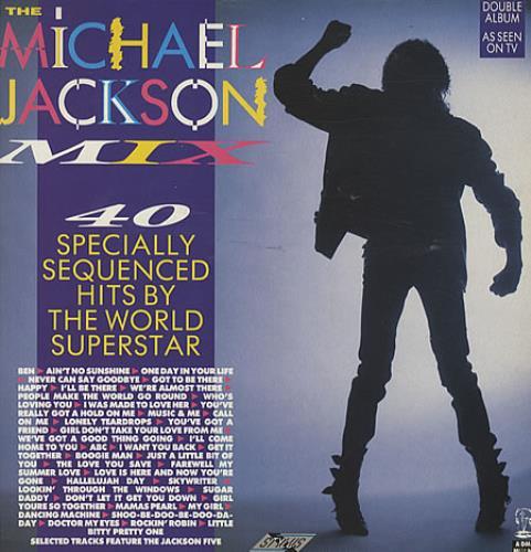 Michael Jackson The Michael Jackson Mix - EX 2-LP vinyl record set (Double Album) UK M-J2LTH220736
