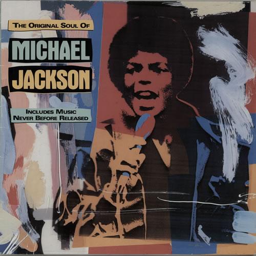 Michael Jackson The Original Soul Of Michael Jackson vinyl LP album (LP record) German M-JLPTH638221