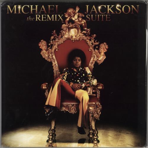 Michael Jackson The Remix Suite - 180gram Vinyl 2-LP vinyl record set (Double Album) US M-J2LTH766850