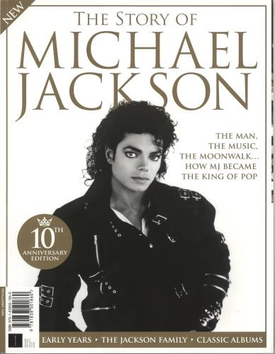 Michael Jackson The Story Of Michael Jackson magazine UK M-JMATH736279