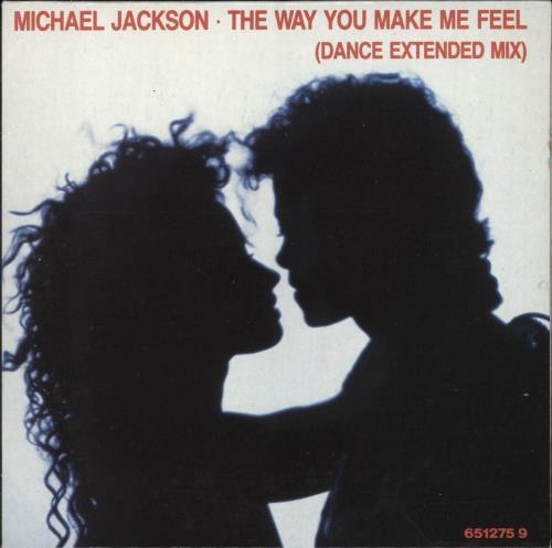 """Michael Jackson The Way You Make Me Feel CD single (CD5 / 5"""") UK M-JC5TH04801"""