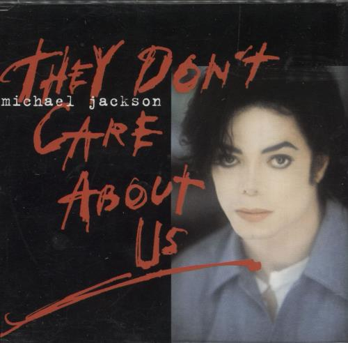 """Michael Jackson They Don't Care About Us - CD1 CD single (CD5 / 5"""") UK M-JC5TH63430"""