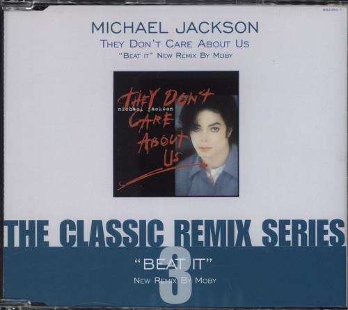 """Michael Jackson They Don't Care About Us - CD2 CD single (CD5 / 5"""") UK M-JC5TH767017"""