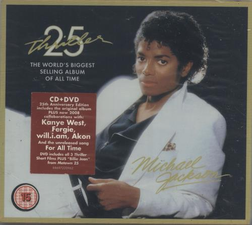 Michael Jackson Thriller 25th Anniversary Edition