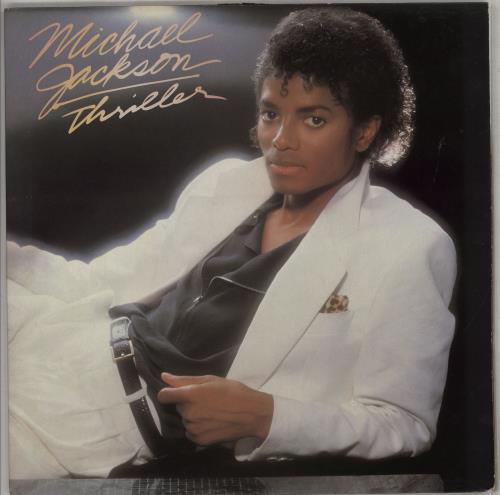 Michael Jackson Thriller - 2nd + Inner vinyl LP album (LP record) UK M-JLPTH764176