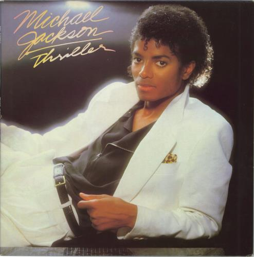 Michael Jackson Thriller - 2nd vinyl LP album (LP record) UK M-JLPTH763105