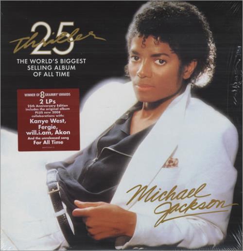 Michael Jackson Thriller - Sealed 2-LP vinyl record set (Double Album) UK M-J2LTH432260