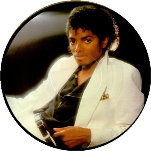 Michael Jackson Thriller picture disc LP (vinyl picture disc album) US M-JPDTH23672