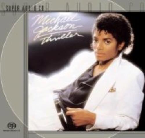Michael Jackson Thriller super audio CD SACD US M-JSATH258671