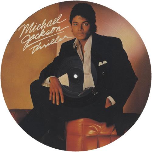 Michael Jackson Thriller Uk Picture Disc Lp Vinyl Picture