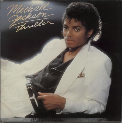 Michael Jackson Thriller vinyl LP album (LP record) Dutch M-JLPTH619942