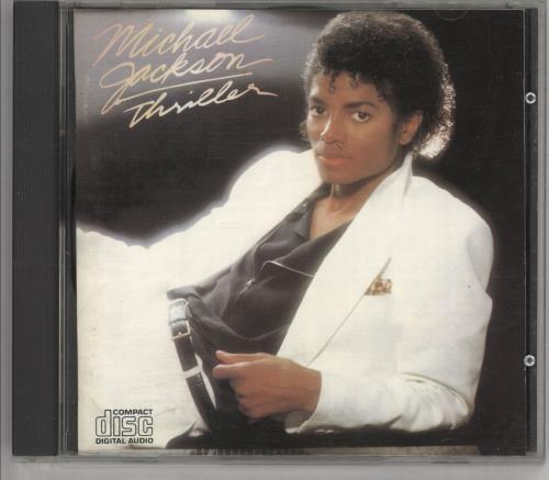 Michael Jackson Thriller CD album (CDLP) UK M-JCDTH748417