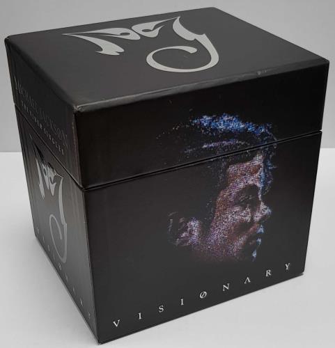Michael Jackson Visionary - The Video Singles box set UK M-JBXVI429977