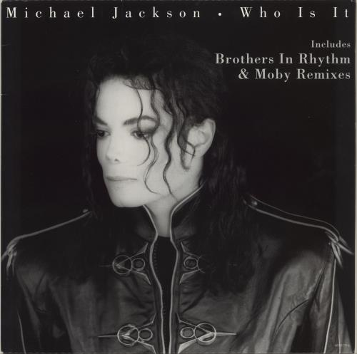 "Michael Jackson Who Is It 12"" vinyl single (12 inch record / Maxi-single) UK M-J12WH97798"