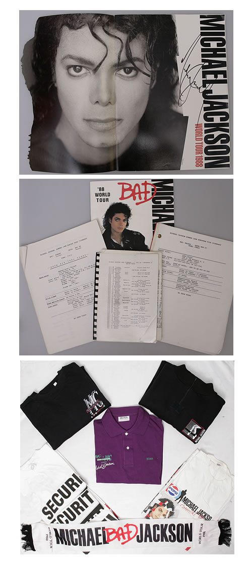 Michael Jackson World Tour 1988 - Crew Member Memorabilia memorabilia UK M-JMMWO555438