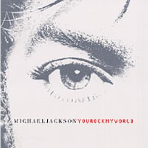 """Michael Jackson You Rock My World CD single (CD5 / 5"""") US M-JC5YO197388"""
