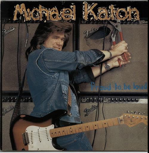 Michael Katon Proud To Be Loud! vinyl LP album (LP record) UK MKTLPPR630571