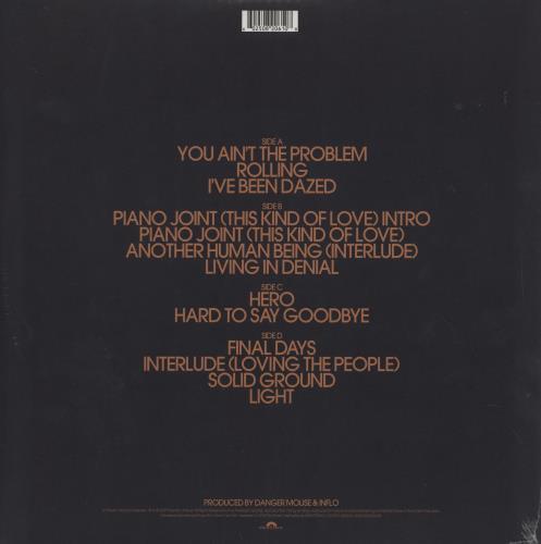 Michael Kiwanuka Kiwanuka - Autographed Edition 2-LP vinyl record set (Double Album) UK OJC2LKI753891