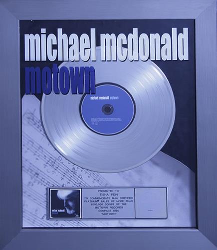 Michael McDonald Motown award disc US MIMAWMO534135