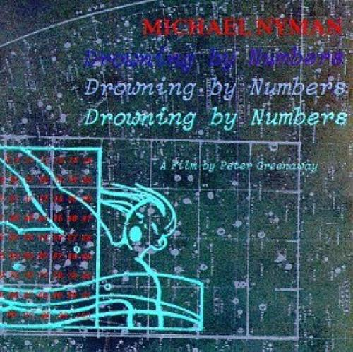 Michael Nyman Drowning By Numbers OST CD album (CDLP) UK NYNCDDR360631