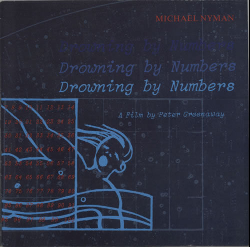 Michael Nyman Drowning By Numbers vinyl LP album (LP record) UK NYNLPDR604227