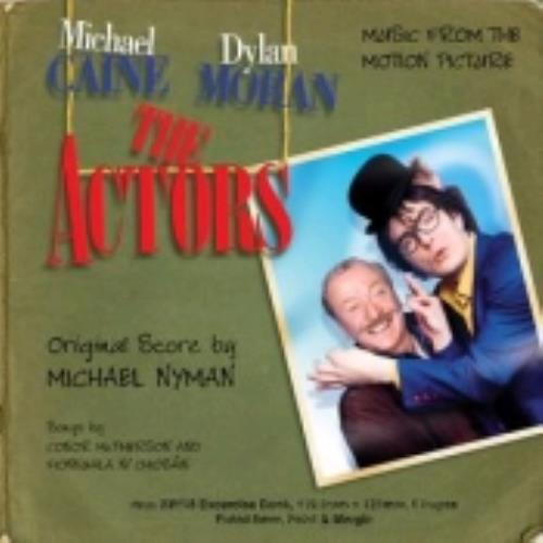 Michael Nyman The Actors CD album (CDLP) UK NYNCDTH245082