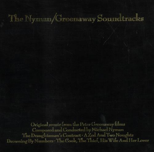 Michael Nyman The Nyman / Greenaway Soundtracks - Sealed CD Album Box Set UK NYNDXTH491571