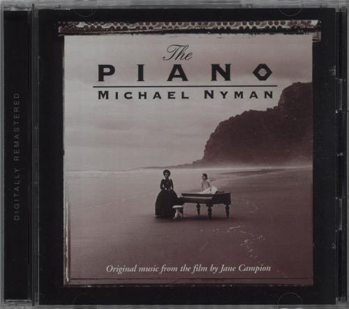 Michael Nyman The Piano: Music From The Motion Picture CD album (CDLP) UK NYNCDTH357000
