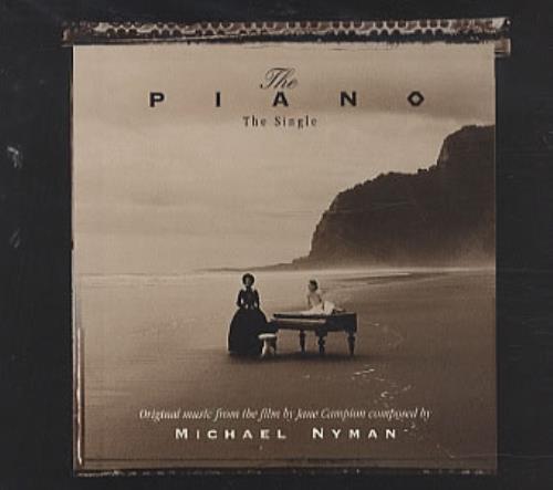 "Michael Nyman The Piano CD single (CD5 / 5"") UK NYNC5TH332272"