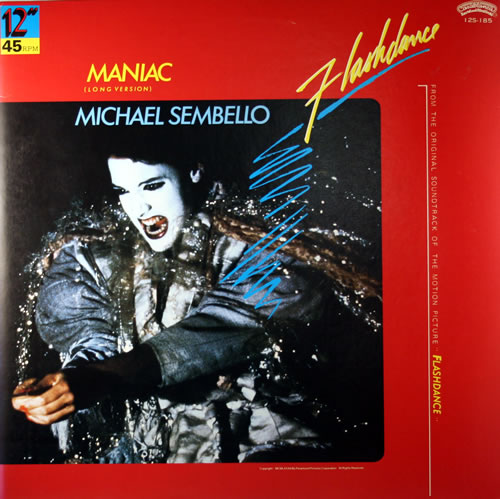 Michael Sembello Maniac Japanese 12 Quot Vinyl Single 12 Inch