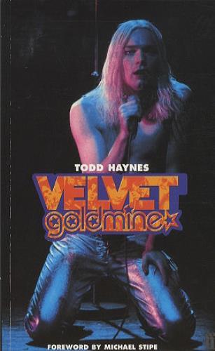 Michael Stipe Velvet Goldmine book UK M.SBKVE411183