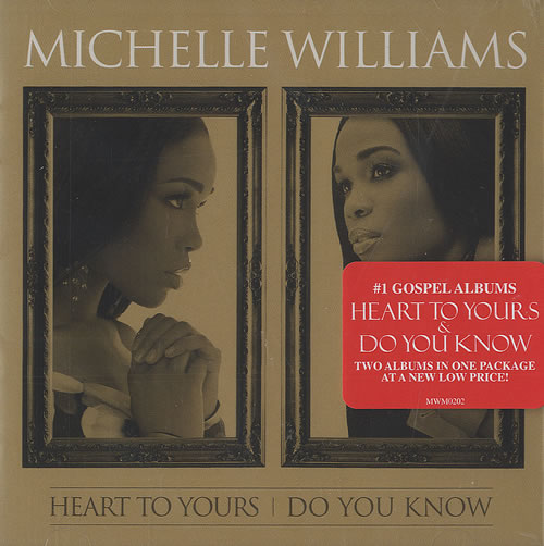 Michelle Williams Heart To Yours / Do You Know 2 CD album set (Double CD) US M.W2CHE489931