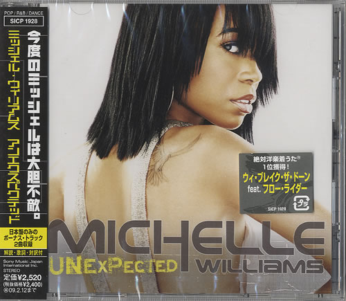 Michelle Williams Unexpected CD album (CDLP) Japanese M.WCDUN448637