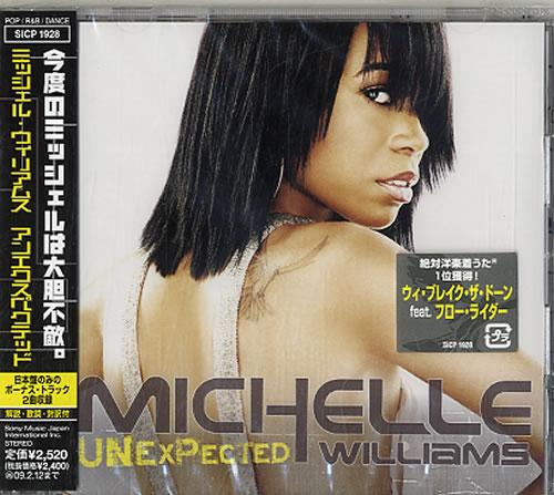 Michelle Williams Unexpected CD album (CDLP) Japanese M.WCDUN632328