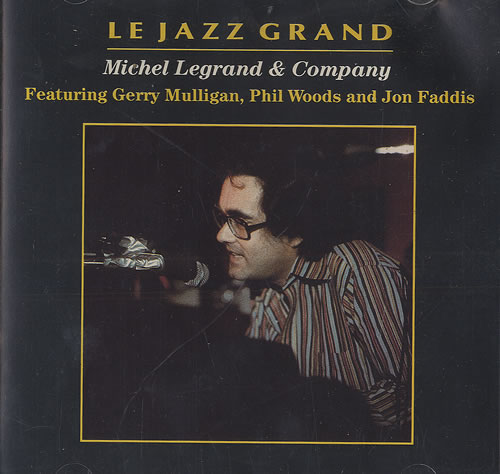 Michel Legrand Le Jazz Grand CD album (CDLP) US MLGCDLE492450