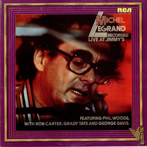 Michel Legrand Recorded Live At Jimmy's vinyl LP album (LP record) UK MLGLPRE470431