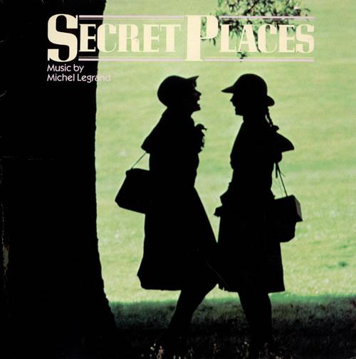 Michel Legrand Secret Places vinyl LP album (LP record) UK MLGLPSE475347