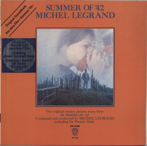 Michel Legrand Summer Of '42 vinyl LP album (LP record) German MLGLPSU694156