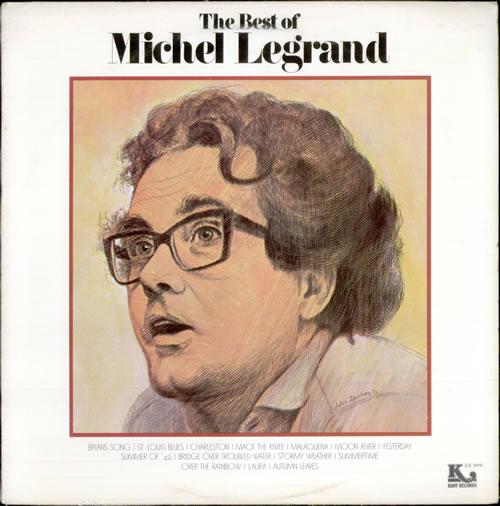 Michel Legrand The Best Of Michel Legrand vinyl LP album (LP record) US MLGLPTH528087